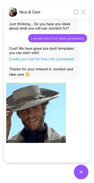 Free sales chatbot templates