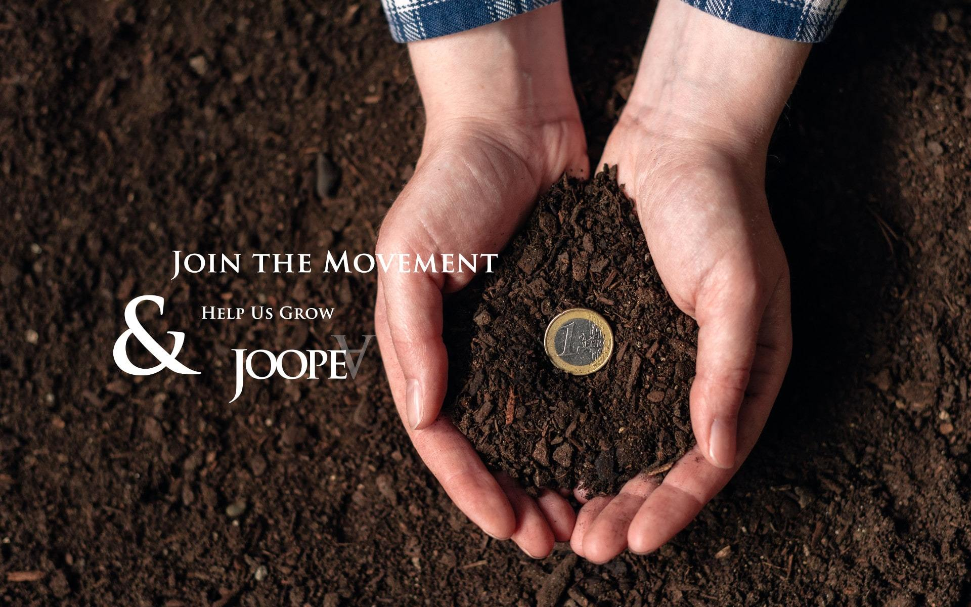 Donate, help us grow & join the movement of JoopeA