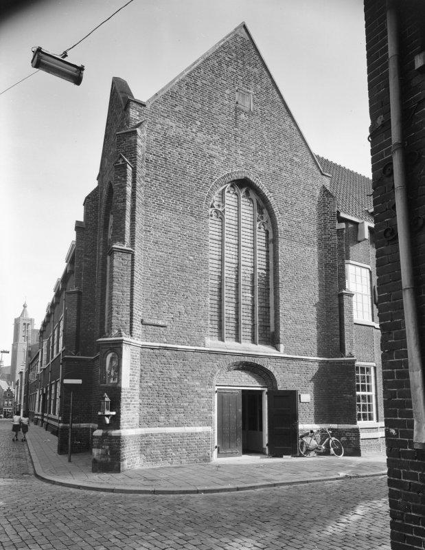 Foto van de Jacobskapel na de restauratie in de jaren dertig van de 20e eeuw.
