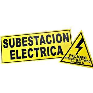Señalizacion subestacion electrica