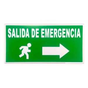 Señalización Salida de Emergencia Bogota