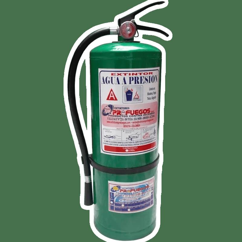 Extintor de agua a presión Bogotá