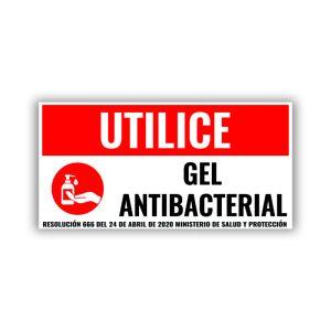 use gel antibacterial