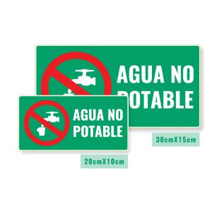 Señalización Agua No Potable