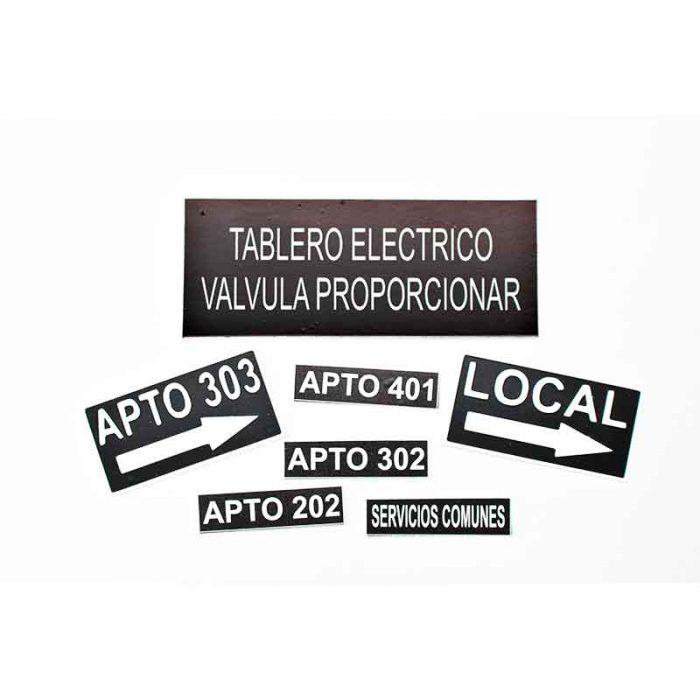 Marquillas para tableros eléctricos Bogota