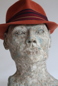 Marble Man in Hat