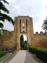 Entrance to the Fortezza Albornoz Park