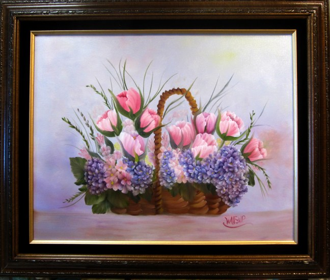 Basket of Tulips (2015)