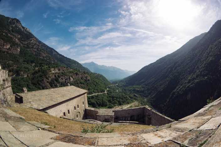 Susa Valley from Fort of Exilles