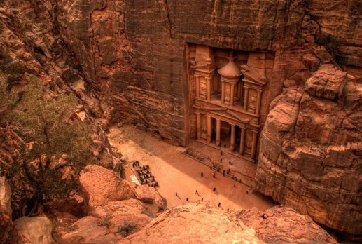 petra in addition to