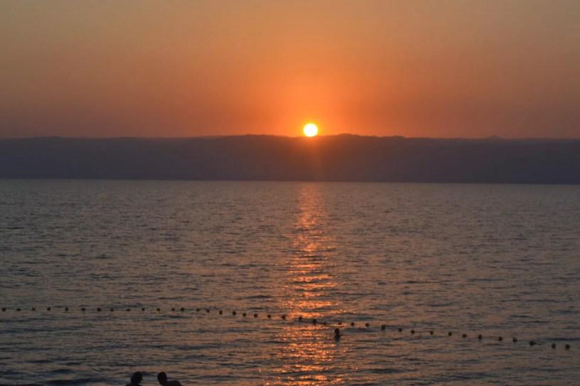 dead sea sun raise