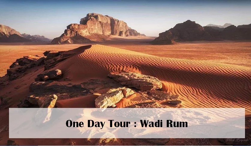 Jordan One Day Tour Offer44