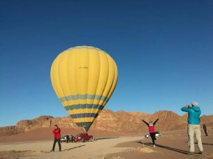 wadi Rum - Hot Air Ballon - Jordan Day Tour and More