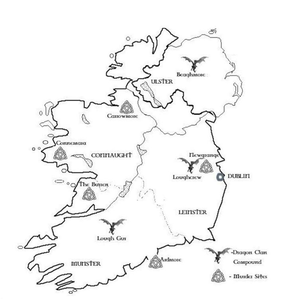 The Keepers Of Eire Map