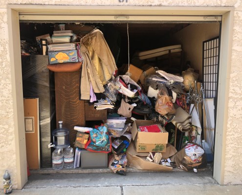 Unorganized Storage Unit, Messy Storage Unit