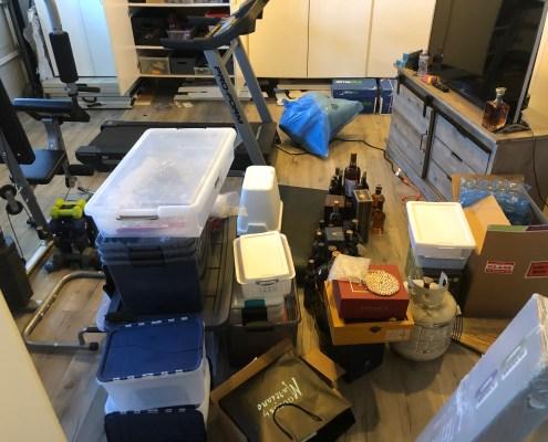 Unorganized Garage, Messy Garage