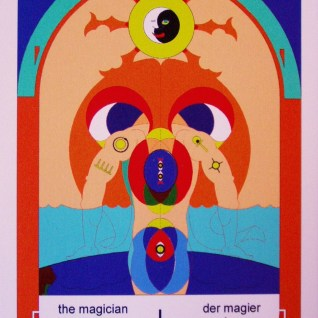 I The Magician... the Black Crucible upside down cup of the big bowl vessel of the night sky