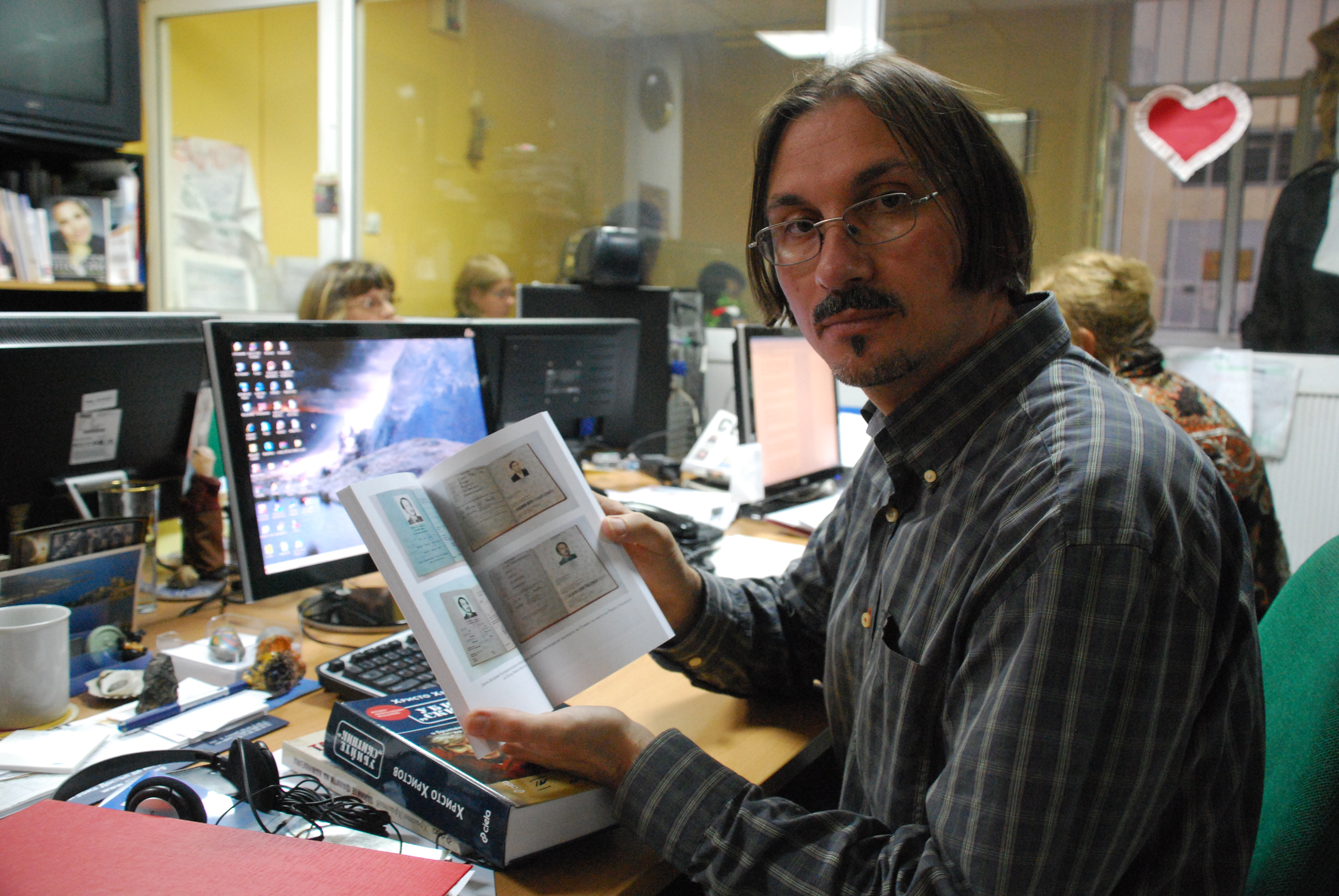 Crusader: Bulgarian journalist Hristo Hristov has fought for more than a decade to uncover the truth about Georgi Markov's murder that took place in London 30 years ago. (Photo: mjj)
