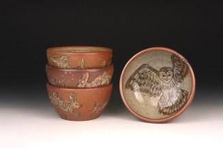 Owl & Rabbit Bowls