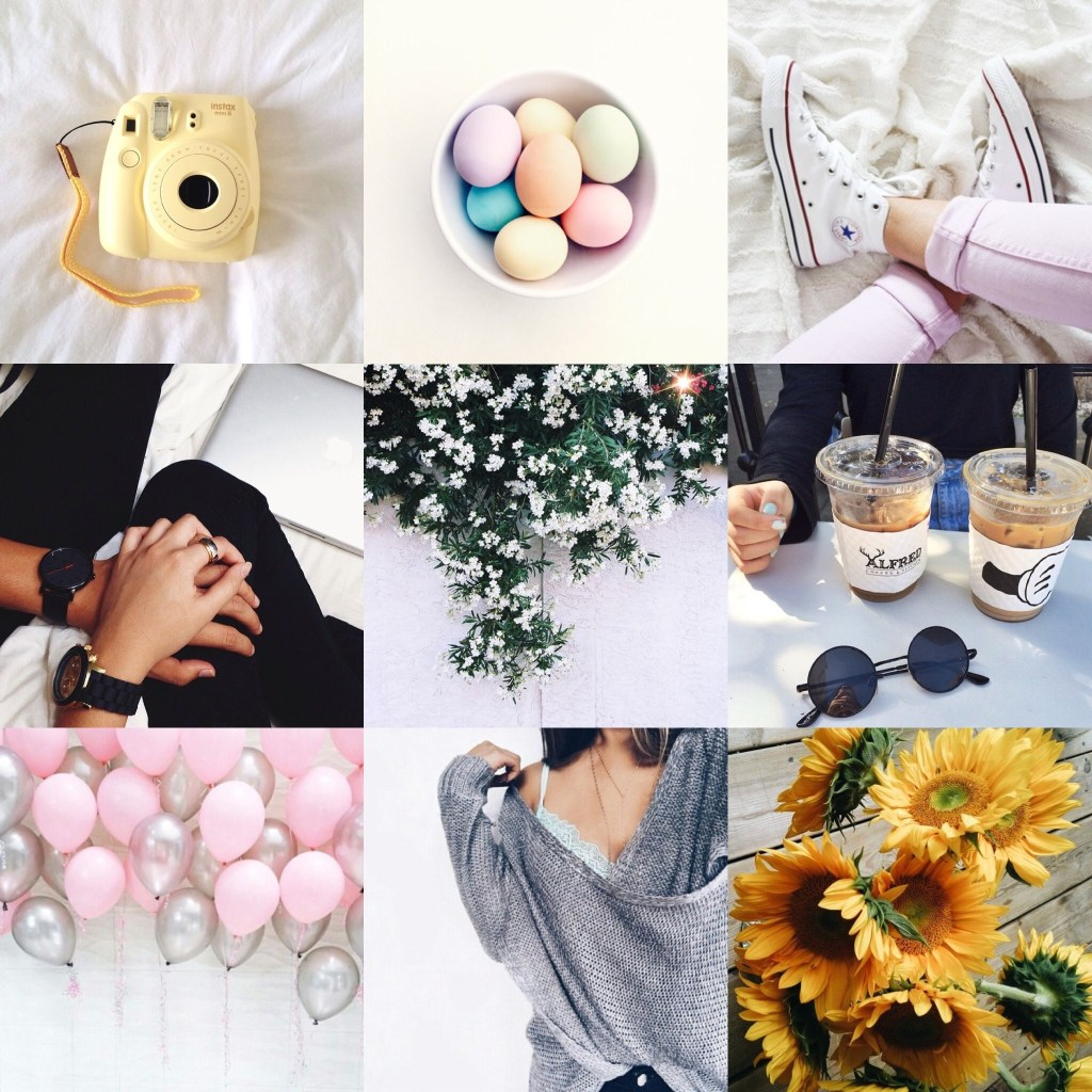 April Mood Board
