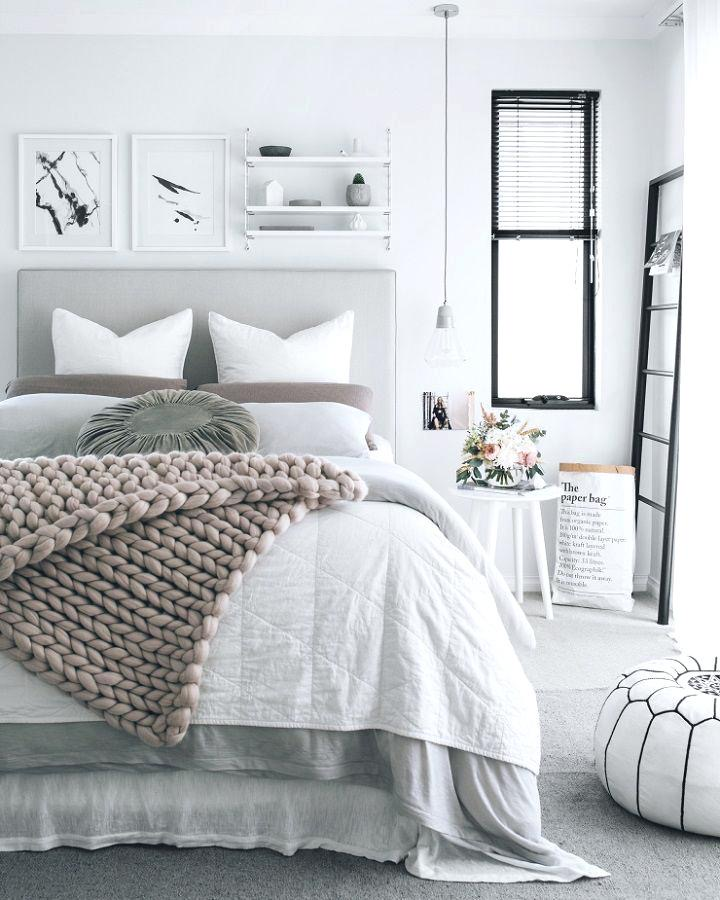 october mood board comfy bed