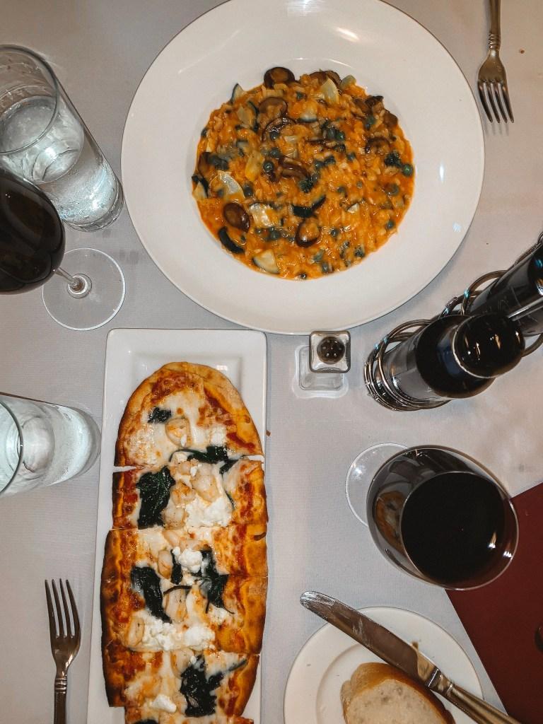 CIRC hotel olivia restaurant dinner