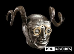 Horned Helmet Front
