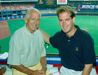 Joe and Jack Buck