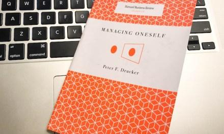 Book Review: Managing Oneself