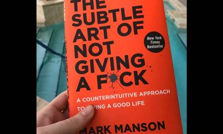 The Subtle Art of Not Giving A Fuck by Mark Manson