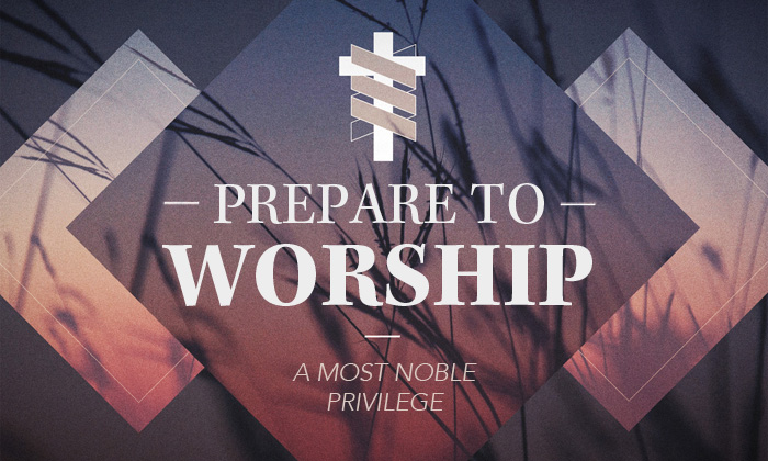 Image result for Preparing to prepare for worship