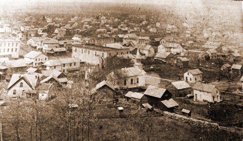Jordan from brewery hill in 1890