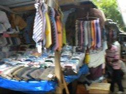 3.- The Sorbonne market selling men's wares.