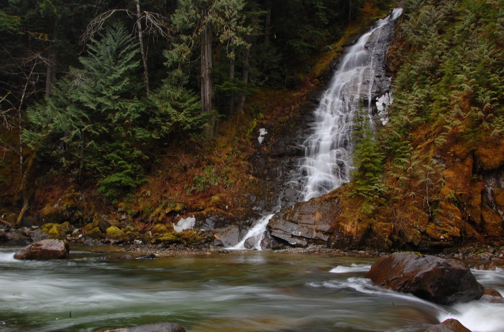 To Eureka Falls, Hope, British Columbia