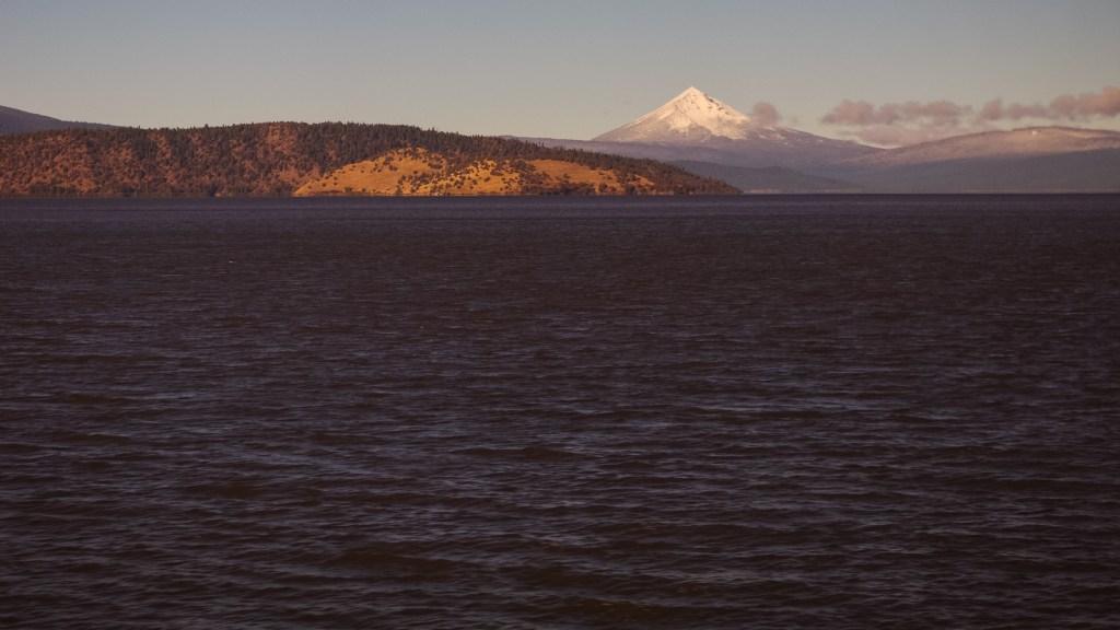 The Mountain Beyond the Lake