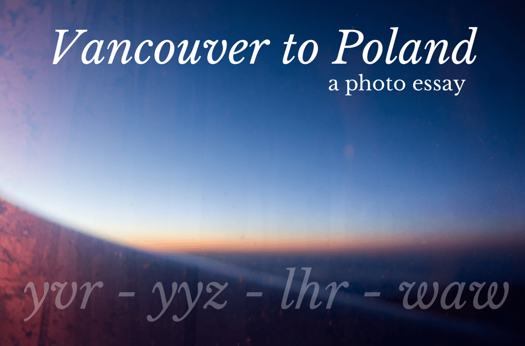 Vancouver to Poland