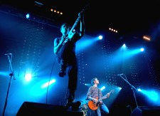 A photo of the band Franz Ferdinand, live in concert in Glasgow in 2006