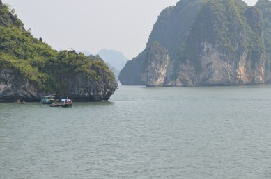 Ha Long Bay with Fishing Boats 2