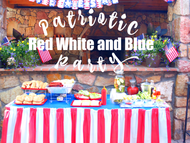 Get inspiration for your Patriotic Red White and Blue Party