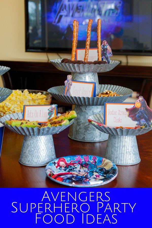 Avengers Superhero Party Food Ideas Jordan S Easy Entertaining