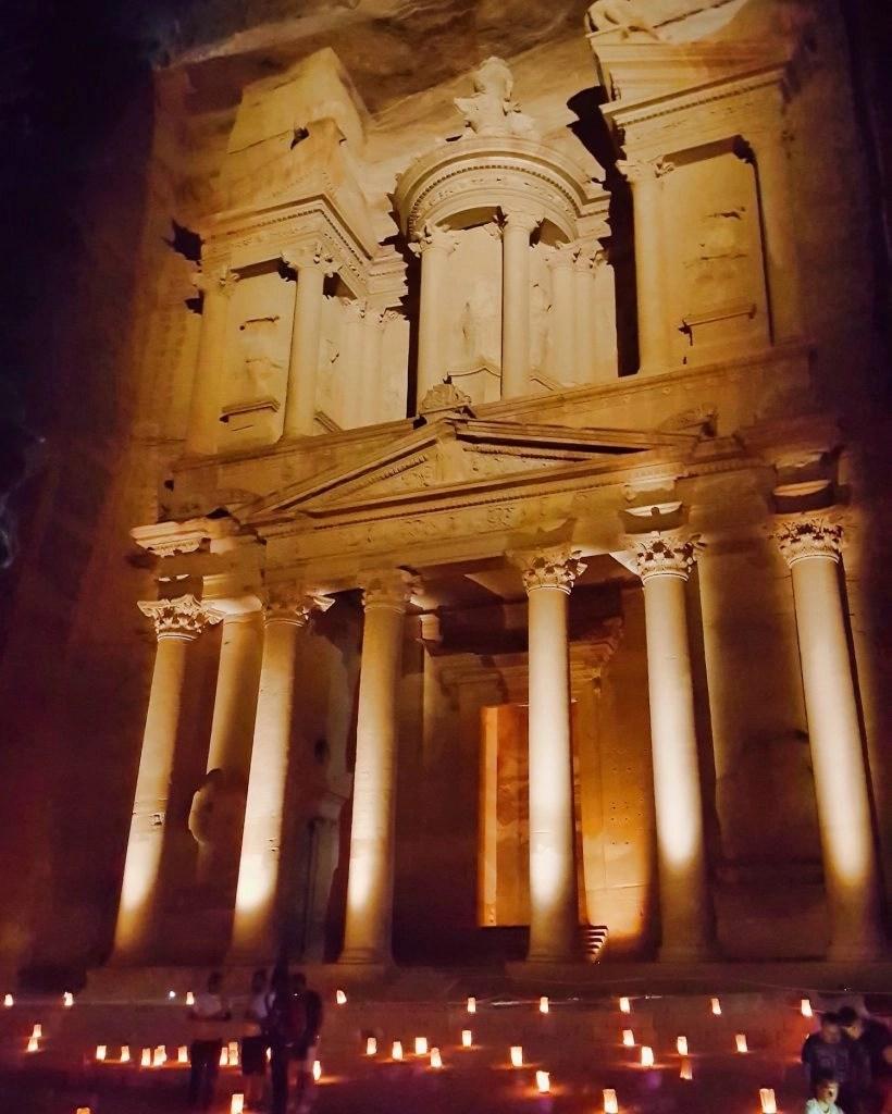 10 Days in Jordan - Petra by Night