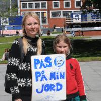 Luna, 9 år : Pas på Jorden