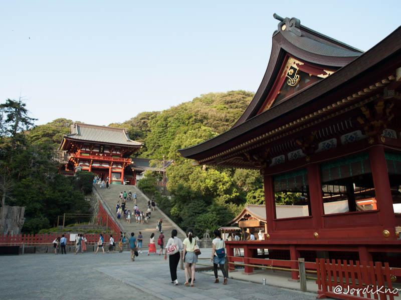 Maiden y Subida al Santuario Tsurugaoka Hachimangu