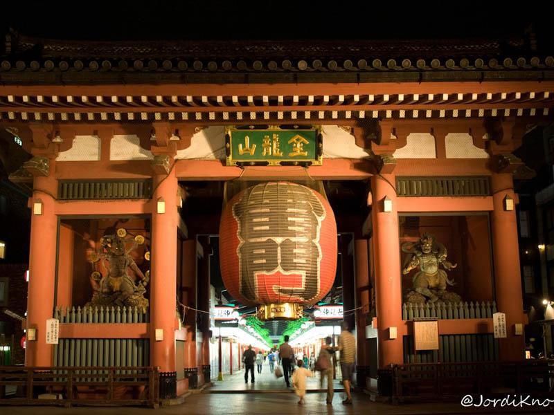 Kaminarimon, Puerta del Trueno