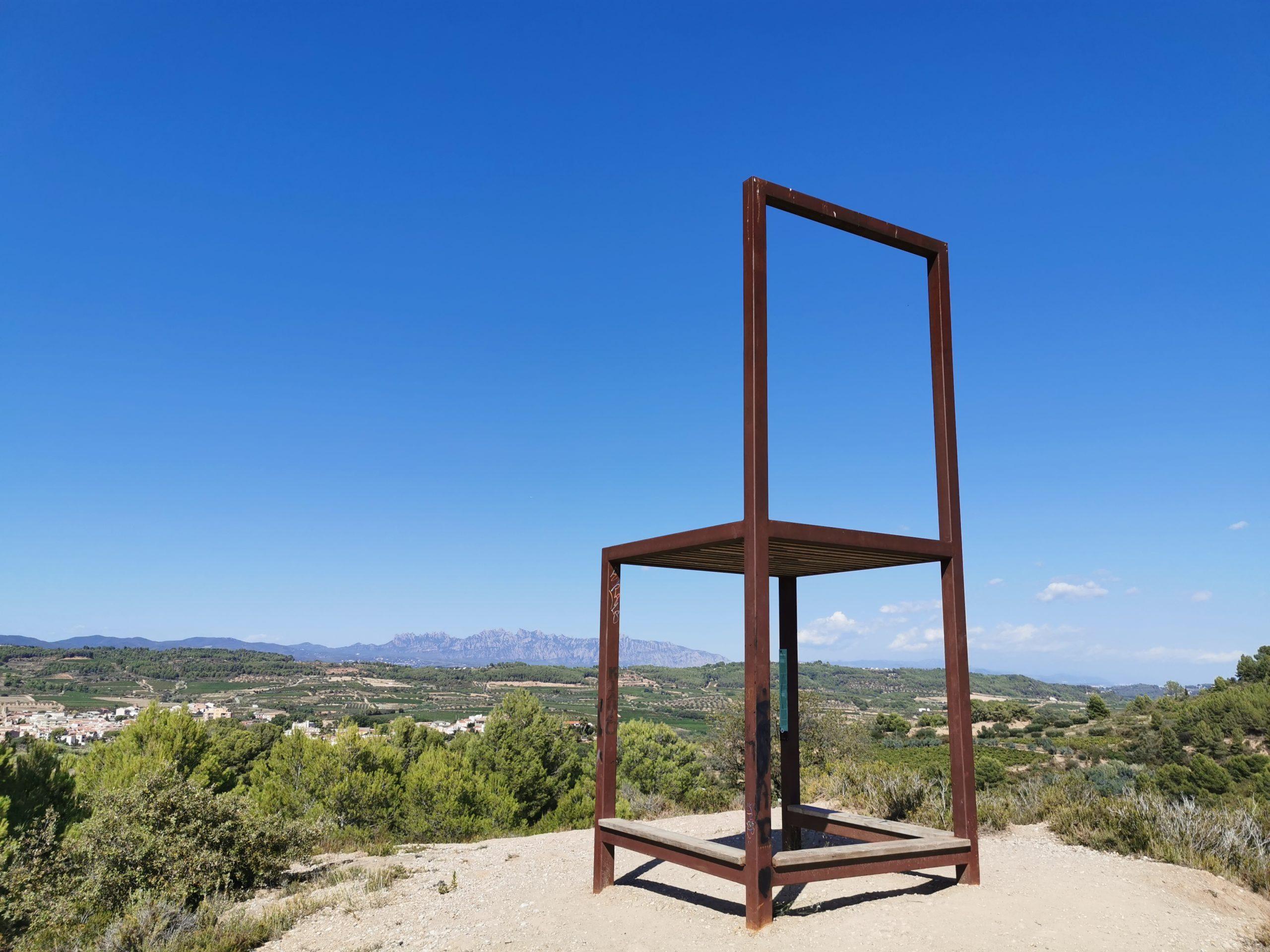 Mirador Miravinya La Cadira (San Pedro de Riudevitlles)