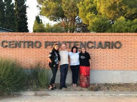 Jordi Moncayo, Estela, Camino, Flavia en C.P. Zuera (Junio 2018)