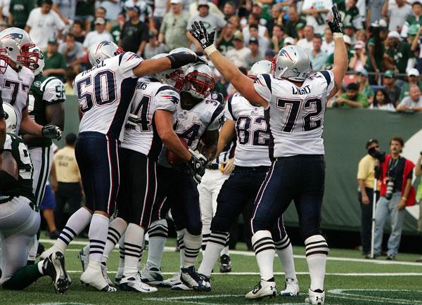 Sammy Morris and Patriots