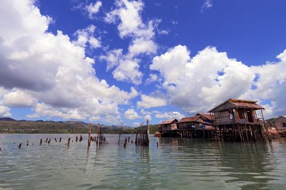 Pesisir P. Peling Kab. Banggai Kepulauan - Sulawesi Tengah