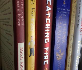 Books organized alphabetically