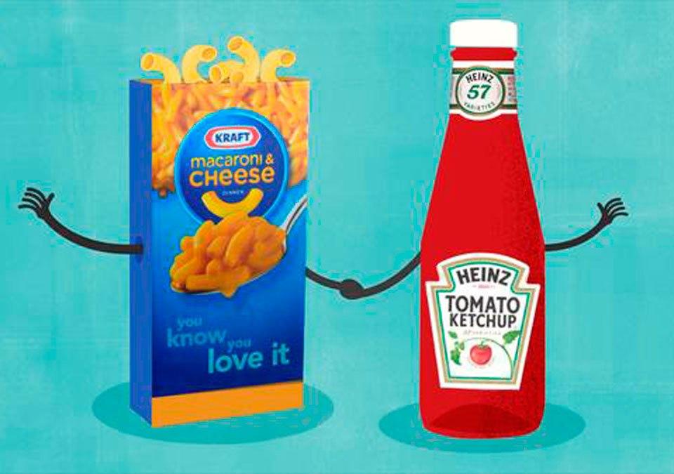 Heinz y Kraft se fusionan y crean la quinta empresa de comida más grande del mundo